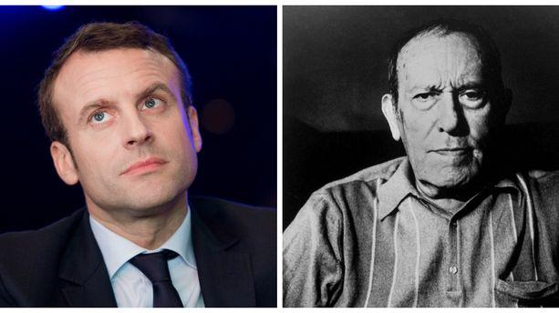 Emmanuel Macron Cite René Char