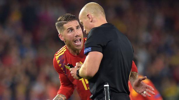 Video Le Nouveau Geste Inexcusable De Sergio Ramos Lors D Espagne