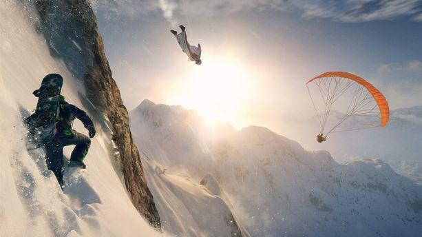 E3 2016 : Steep, la balade en montagne inattendue d'Ubisoft