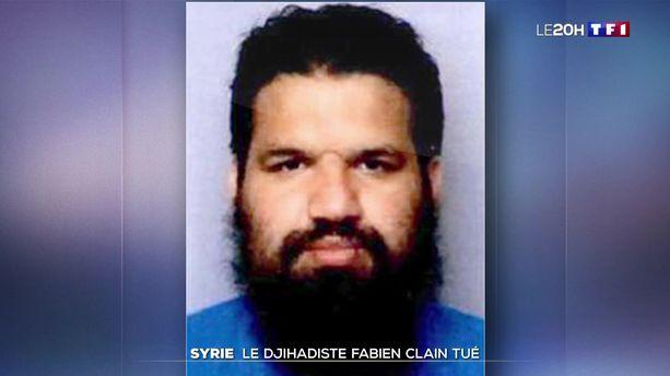 Syrie : mort du djihadiste Fabien Clain