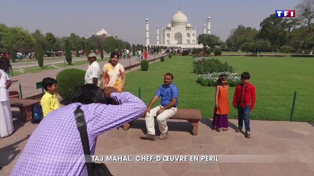 Taj Mahal, un chef-d'œuvre en péril