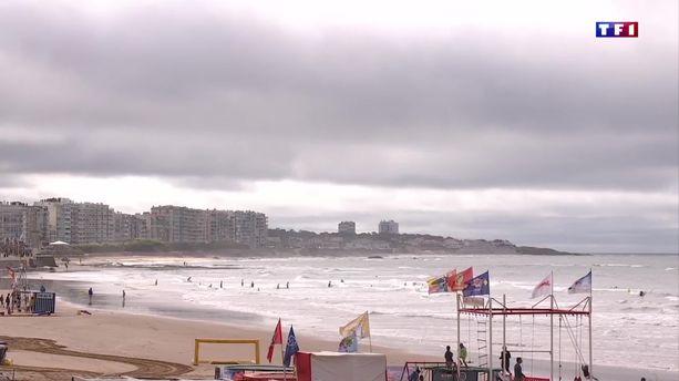 Temps maussade en Vendée, les vacanciers doivent s'adapter
