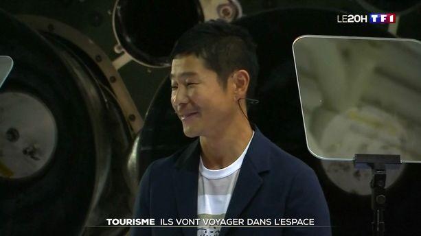 Tourisme : Yusaku Maezawa va voyager autour de la lune