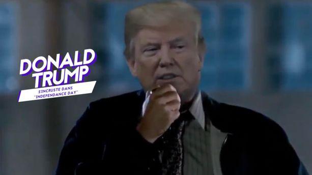 "VIDÉO - Quand Donald Trump s'incruste dans ""Independance Day"""