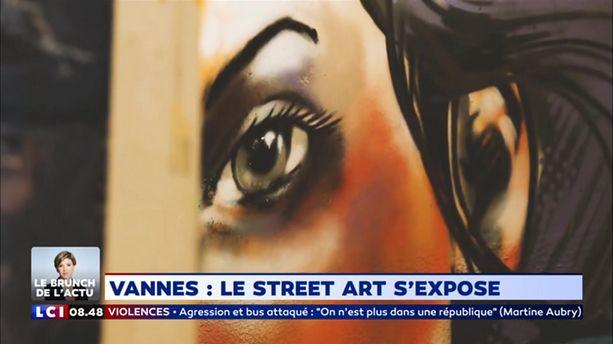 Vannes: le street art s'expose