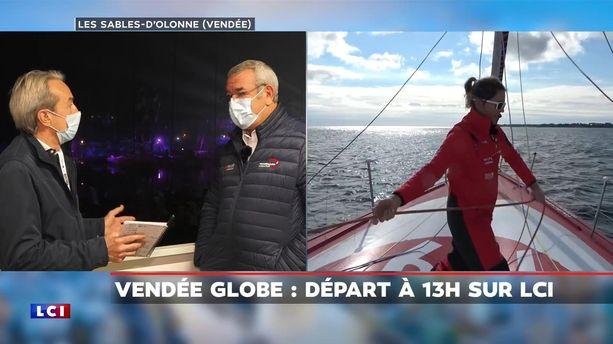 Vendée Globe 2020 - replay du dimanche 8 novembre 2020 07h11