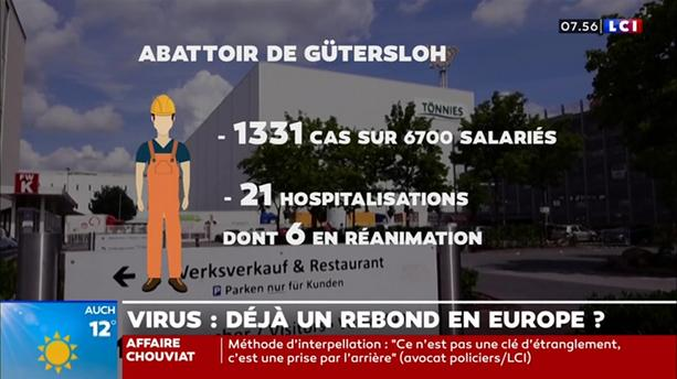 Virus : déjà un rebond net en Europe ?