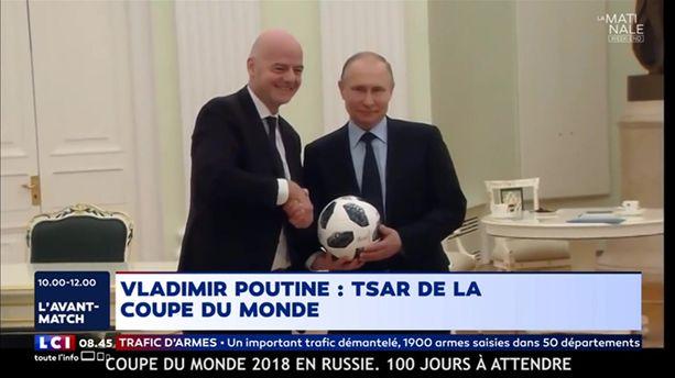 Vladimir Poutine: Tsar de la Coupe du Monde