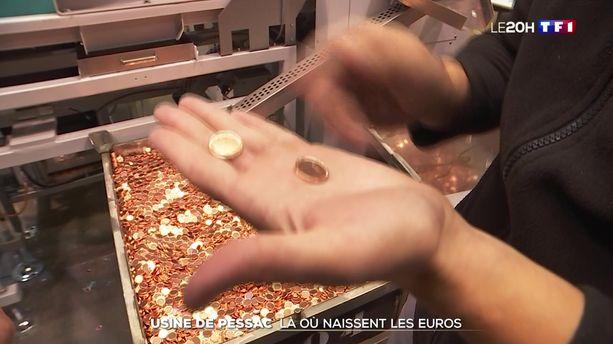 Reportage à l'usine de Pessac : là où naissent les euros