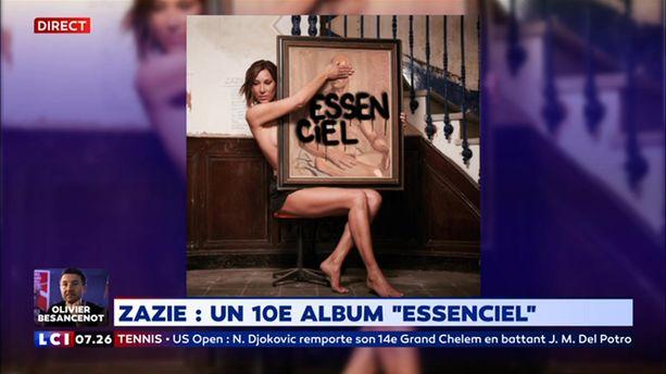"Zazie a sorti son dixième album ""Essenciel"""