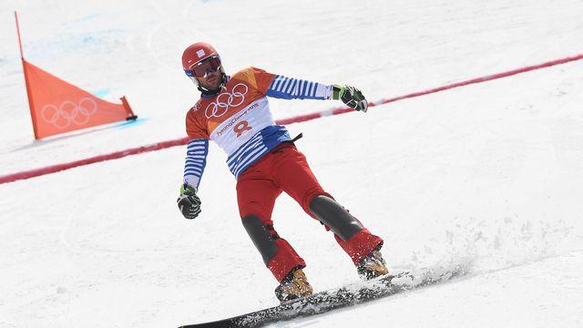JO 2018 - Le Suisse Nevin Galmarini en or en snowboard