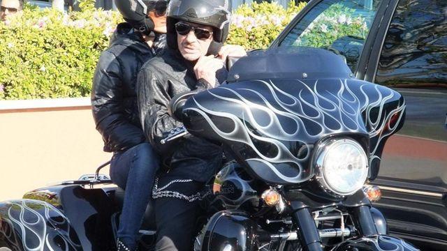 Sa Harley Davidson mise aux enchères — Johnny Hallyday