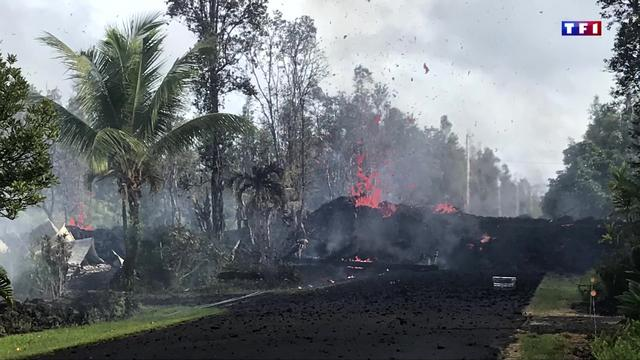 Deux nouvelles fissures après l'éruption du volcan Kilauea — Hawaï