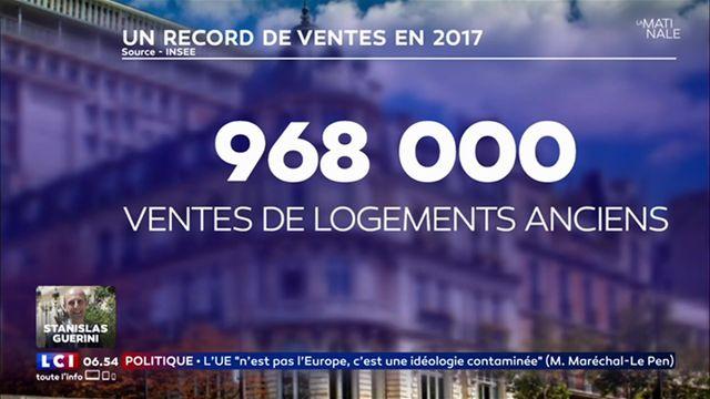 Record de ventes en 2017 — Immobilier ancien