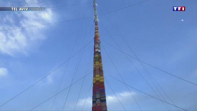 La plus haute tour en Lego au monde mesure 36 mètres — Israël
