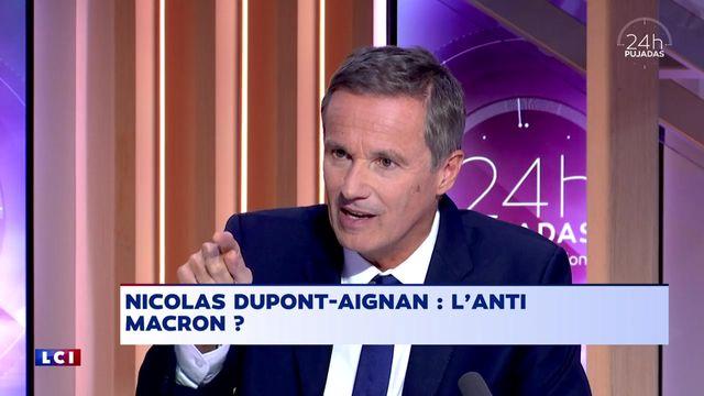 L'invité de 24H Pujadas, l'info en questions du 16 octobre 2017 : Nicolas Dupont-Aignan