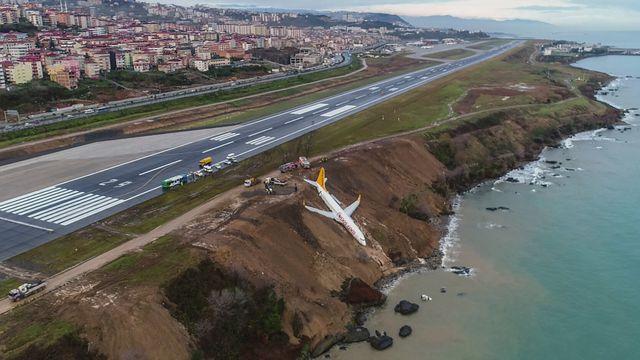Un Boein rate son atterrissage en Turquie