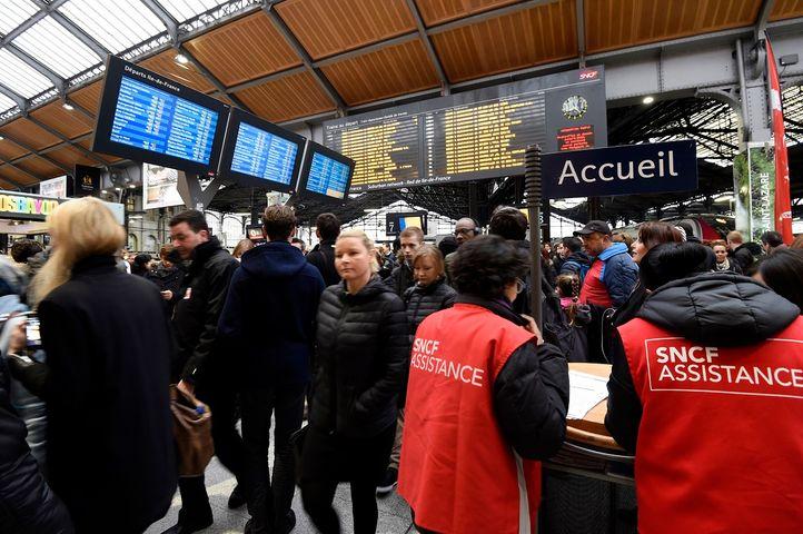La SNCF enregistre des taux records de retards en 2018