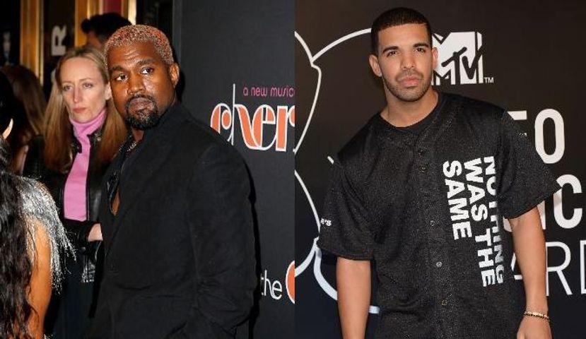 "Kanye West disjoncte sur Twitter et accuse Drake de ""menacer"" sa famille"